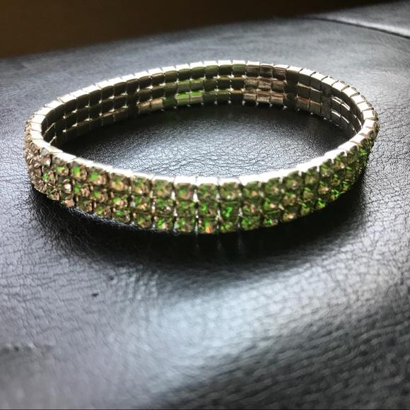 ❌SOLD❌Faux Diamond Elastic Fashion Bracelet